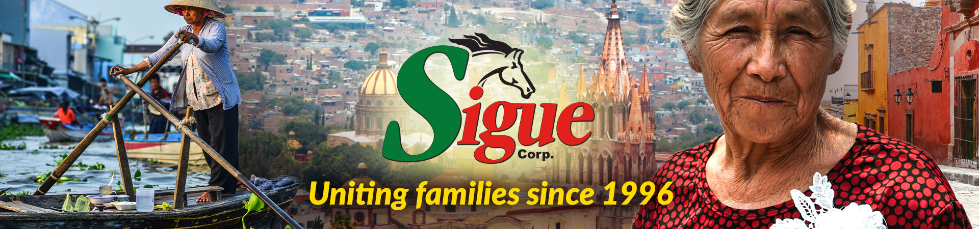 Sigue - Our History
